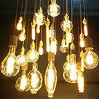 retro vintage style led filament lamps