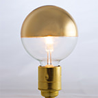 Crown Reflector Cap E27 Light Bulb