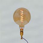 Decorative LED light bulb ES