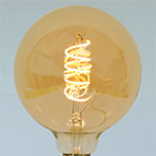 Calex LED Full Glass Flex Filament Globe