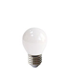 LED mini globe Edison Screw warm white lamp