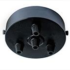 single cordgrip wblack ceiling plate