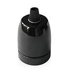 black ceramic china lampholders