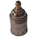 vintage brass giant edison screw bulbholder