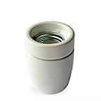 Porcelain Edison Screw cable grip Lampholder 10mm