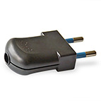 sage green 3-pin plug