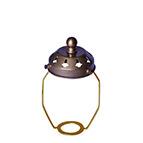 antique 11cm light shade holder