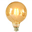 Large Globe Gold LED BC light bulb