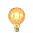 Medium Globe Gold LED BC light bulb