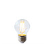 Golf Ball LED ES clear light bulb