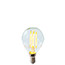 Golf Ball LED SES clear light bulb