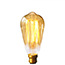 Vintage Squirrel Gold LED BC light bulb