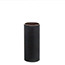 black card light fitting candle tube