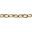 Brass small chain 1m
