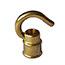 Brass hook (female) ½