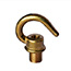 Brass hook (male) 10mm