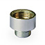 Chrome reduction bush (½ inch female to 10mm male)