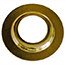Brass plated shade reducing ring