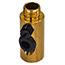 Brass lamp side entry tube