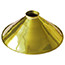 Brass Coolie light Shade