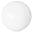 XL Globe White Glass Shade