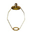 15cm Brass shade carrier