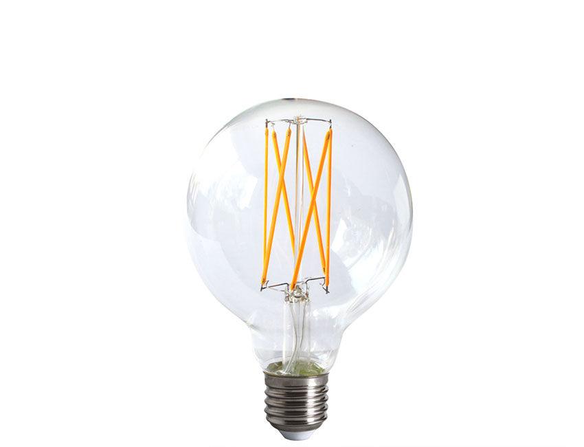 dimming filament led globe light bulb. Black Bedroom Furniture Sets. Home Design Ideas