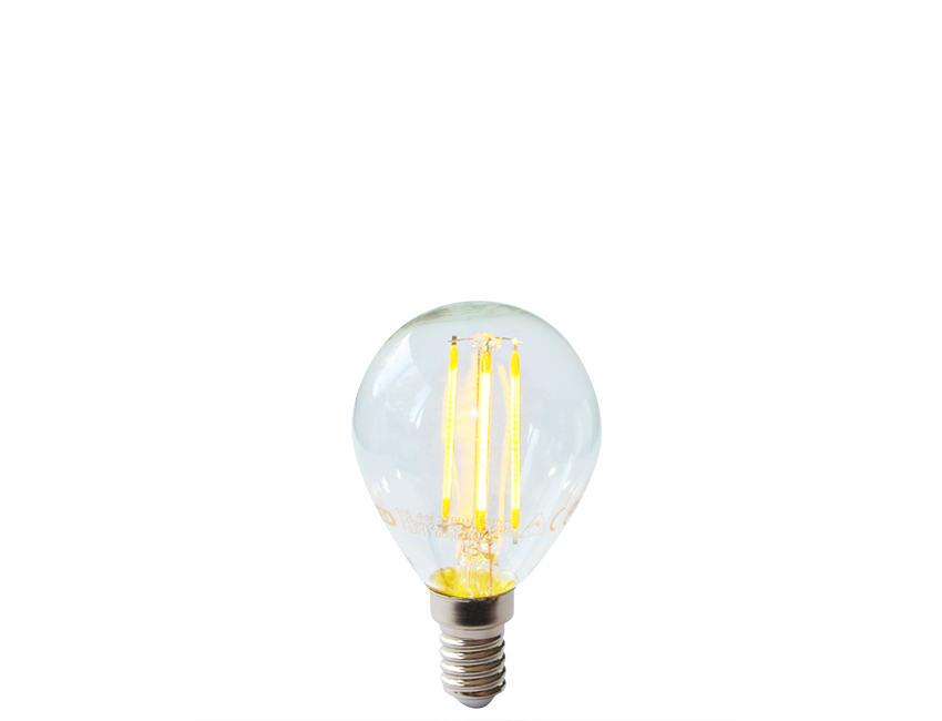 Dimmable Filament Led Spherical Light Bulb E14 Ses