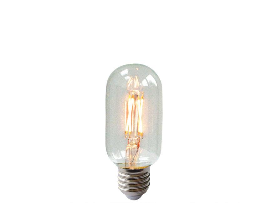 Tubular Shaped Filament Led Light Bulb Es