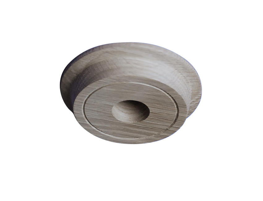 Wooden Ceiling Rose From A Fsc Accredited Source