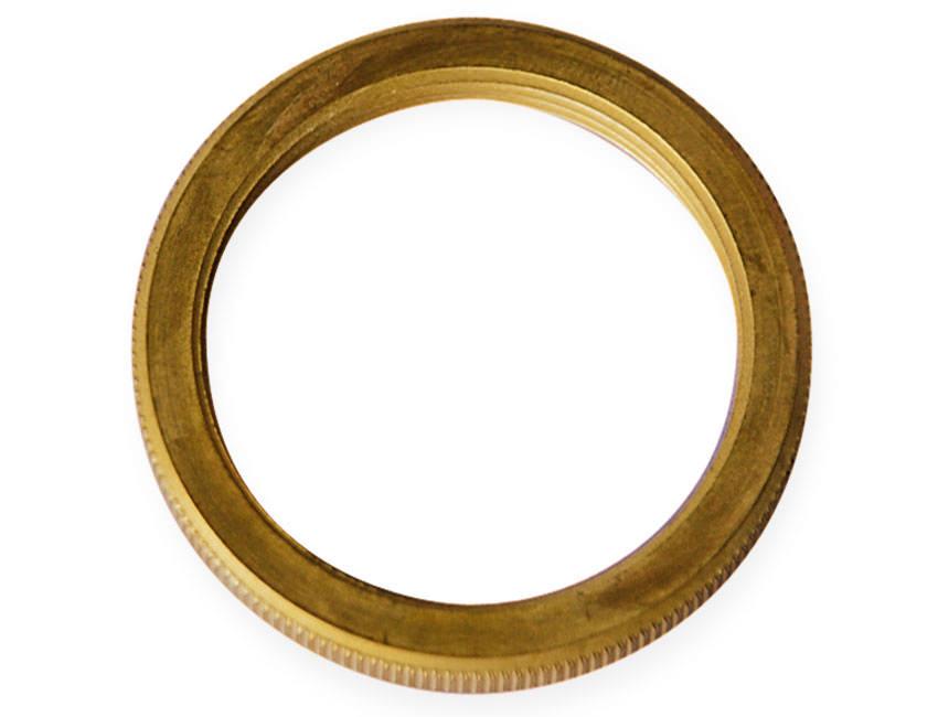 Lamp Holder Light Shade Ring In Brass E27