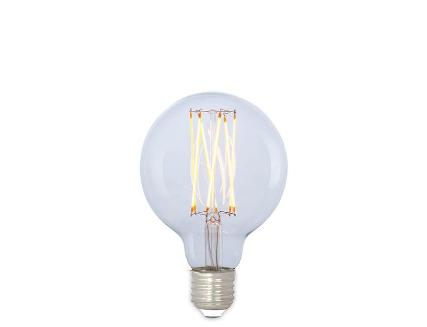 Squirrel Lamp Medium Led Edison Globe Cage Dimmable hQtdsCrx
