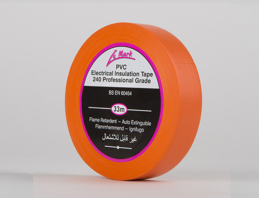 Orange Electrical Insulation Tape