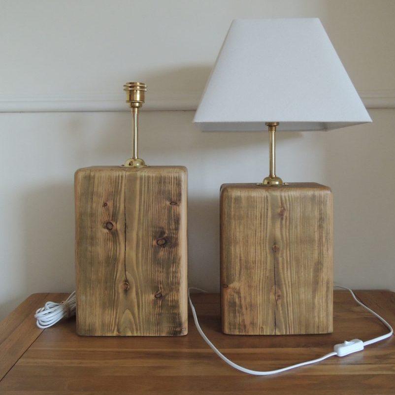 Table lamp kits