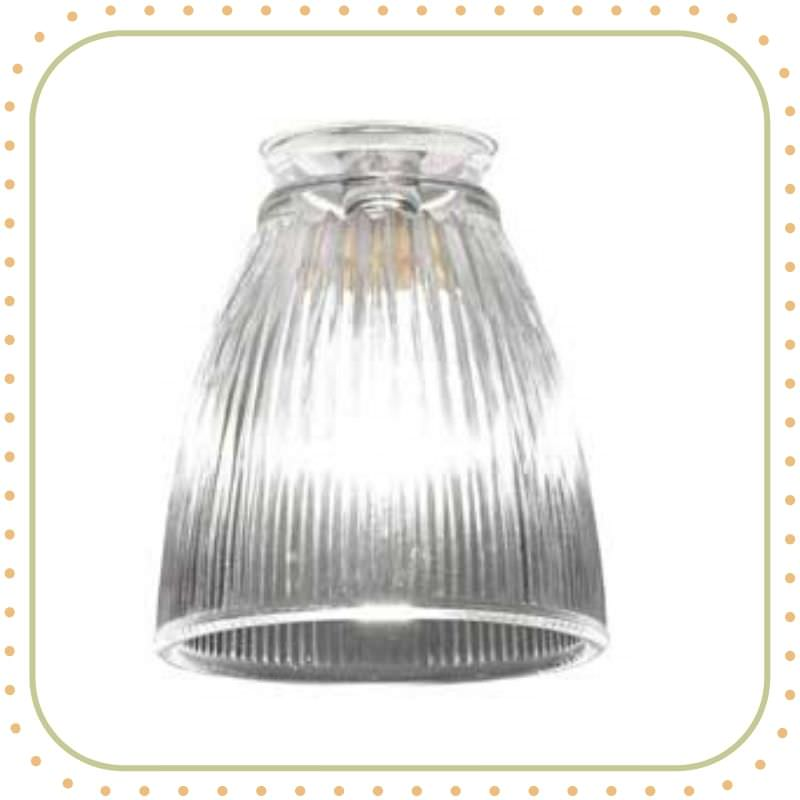 Prismatic glass lamp shade Tulip 1 150x150