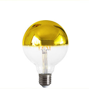 big bulb crown gold reflector led filament es cal 150x150