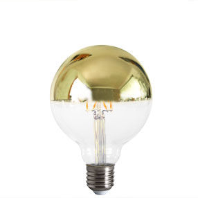 big bulb crown silver reflector led filament es cal 150x150