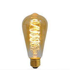 big bulb vintage gold led curve filament es lit cal 150x150