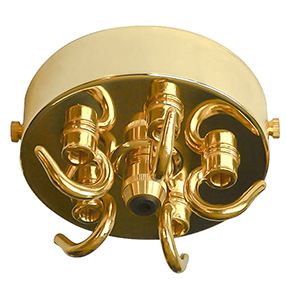 big ceiling hook large five hook brass 150x150
