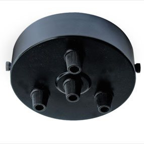 big ceiling plate large four cordgrip plastic black 150x150