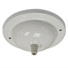 big ceiling plate large single cordgrip ceramic white 150x150