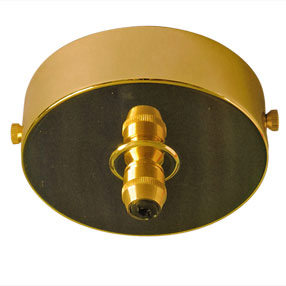 big ceiling plate large single cordgrip metal brass 150x150