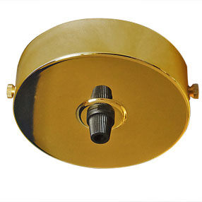 big ceiling plate large single cordgrip plastic brass 150x150