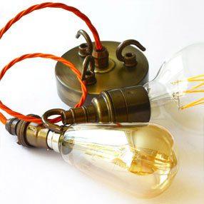pendant light fitting parts