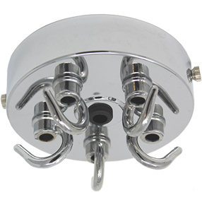 big chrome 5 hook large ceiling hook 150x150