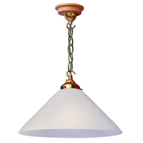 big kits ceiling pendant chain brass lightshade coolie white teal flex 150x150