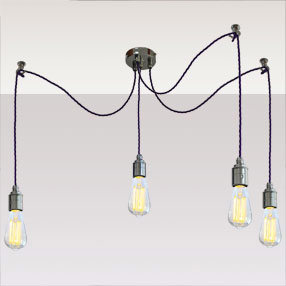 big kits ceiling pendant multi ceiling plate cordgrip metal chrome bulb vintage led purple flex 150x150