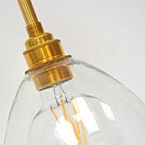 big lampholder batten es shaderings tube 4inch brass closeup shade handblown 1 150x150
