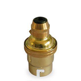 brass pendant lampholder