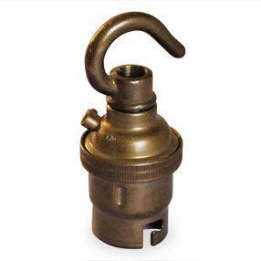 vintage lampholder with hook